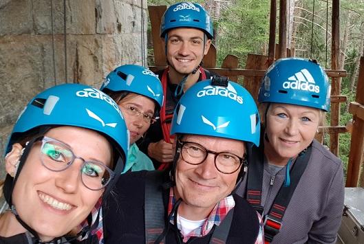 Accenon Team, Area 47 Hochseilgarten, Jubiläum