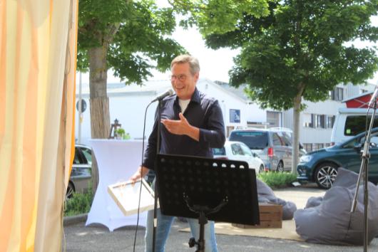 ACCENON Jubiläum Rainer redet