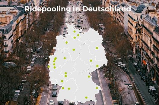 Ridepooling Standorte in Deutschland